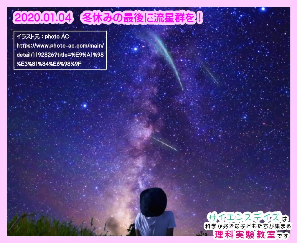 2019年しぶんぎ座流星群